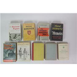 WWII German General Books (9)
