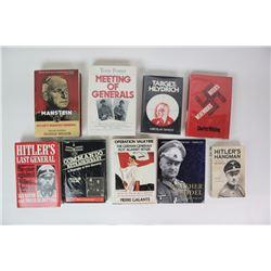 WWII Nazi Books Box Lot (9)
