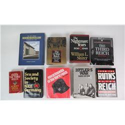 WWII Nazi Third Reich Books (9)