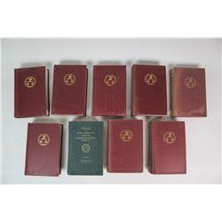 International Military Trials Book Lot