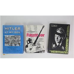 WWII Hitler's Commandors Books (3)