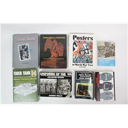 WWII Nazi SS Uniform/Posters Books