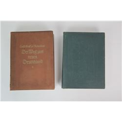 WWII Nazi Hardcover Books (2)