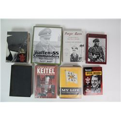 WWII Nazi Generals/Commanders Books (8)