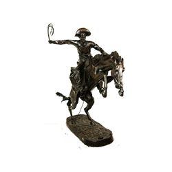 Monumental Bronco Buster Bronze