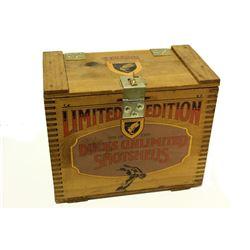 Ducks Unlimited Wooden Shot Shell Box