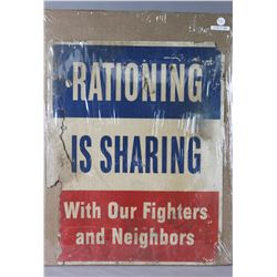 WWI Rationing Poster