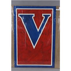 WWI Victory Symbol Poster