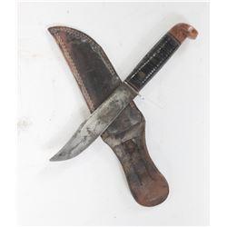 Western Boulder Vintage Hunting Knife