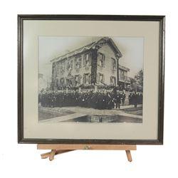 "Large Print ""Abraham Lincoln Home"" Civil War"
