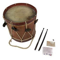 ID'd Civil War Union Drum