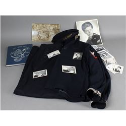 Lot of Navy Items and Uniform