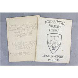 Nuremberg Trial Pamphlets