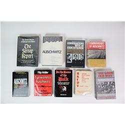 WWII Nazi Holocaust Books (9)