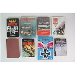 WWII Nazi Flying/Pilots Books (8)