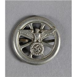 WWII Nazi Eagle Wheel Pin