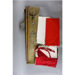 US Army Signal Flag Kit