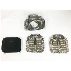 Box Lot of Tactical Pistol Cases