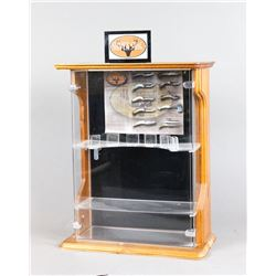 Silver Stag Knife Display Case