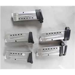 Lot of 5 S&W MP 9mm Mags