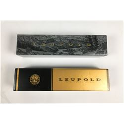 Lot of Two Leupold Rifle Scopes