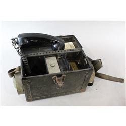 WWII Field Telephone