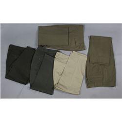 Lot of 5 US Military Pants