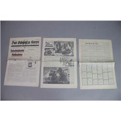 WWII SS Newspaper