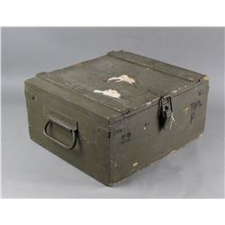 WWII Ammo Box-Wooden