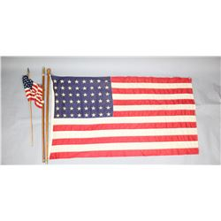 American Flag w/Pole