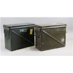 Two Large Ammo Cans