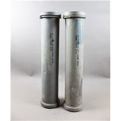 WWII British Artillery Shell Containers