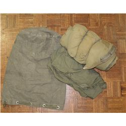 US Military Mountain Bedroll and Carry Bag