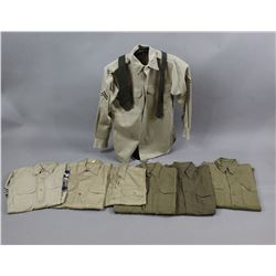 Lot of WWII US Military Shirts