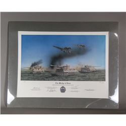 WWII Nazi Signed Print