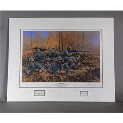 Cross of Iron Signed Print