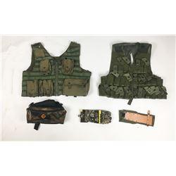 Box Lot of Hunting Gear