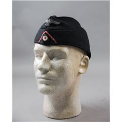 WWII Nazi Army Enlisted Panzer Overseas Cap