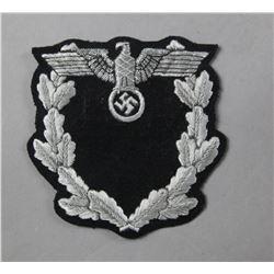 WWII Nazi Diplomatic Corp Sleeve Emblem