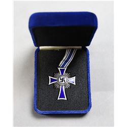 WWII Nazi Silver Mother's Cross
