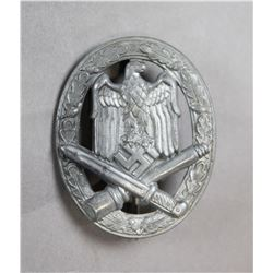 WWII Nazi General Assault Badge