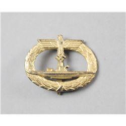 WWII Nazi Naval U Boat Badge