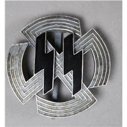 WWII Nazi SS Silver Proficiency Badge