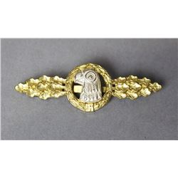 WWII Nazi Luftwaffe Recon Gold Clasp