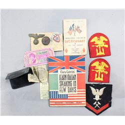 WWII Lot of Vet Bringback Souvenirs