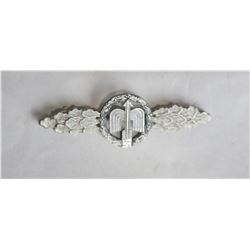 WWII Nazi Luftwaffe Silver Night Fighter Clasp