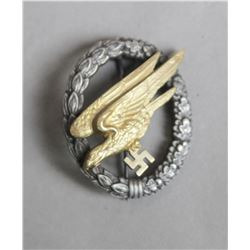 WWII Nazi Luftwaffe Paratrooper Badge