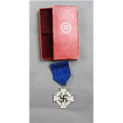 WWII Nazi 25 Year Civil Service Cross