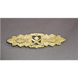 WWII Nazi Gold Close Combat Clasp