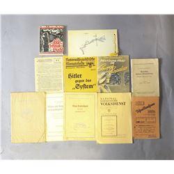 Lot Of 11 WWII Nazi Children's Books